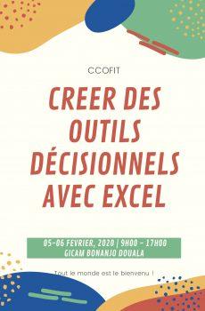 Creer des outils décisionnels avec EXCEL